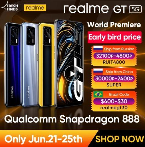 World Premiere realme GT 5G phone - Aliexpress