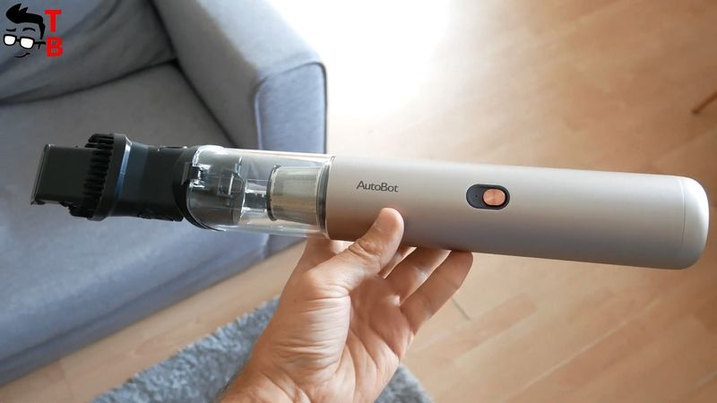 AutoBot VX REVIEW: Very Small, But Powerful Handheld Vacuum Cleaner!