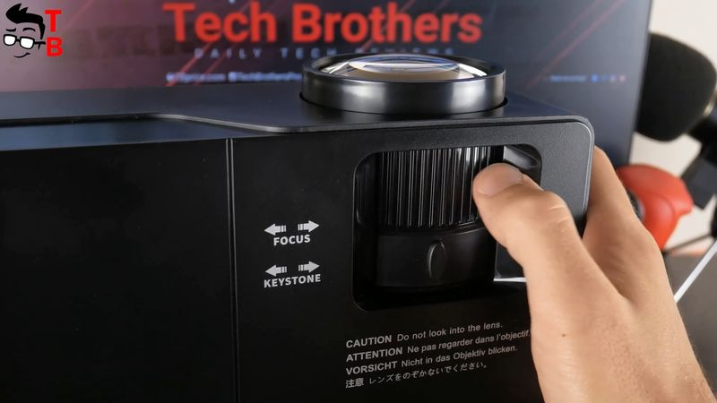 JIMTAB M18 Pro REVIEW: New 1080P Projector With Screen Mirroring!