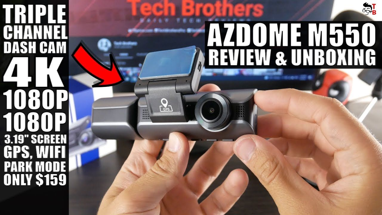 I'm Surprised By This Triple Channel Dash Cam! AZDOME M550 Full REVIEW