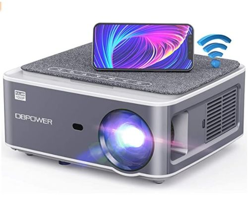 DBPOWER Native 1080P WiFi Projector - Amazon