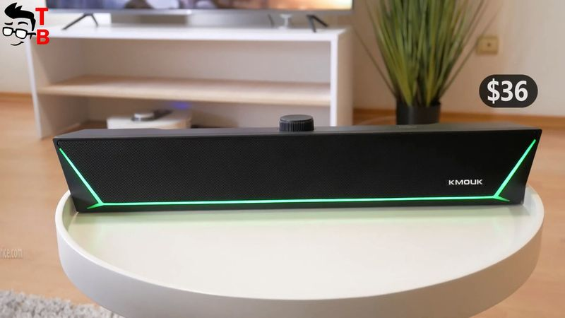 KMOUK KM-HSB002 REVIEW: Bluetooth Gaming Soundbar Only $36!