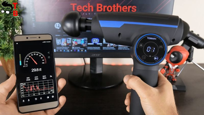 TEIKARE DPG01 Massage Gun REVIEW: Heating Mode & Touch Screen!