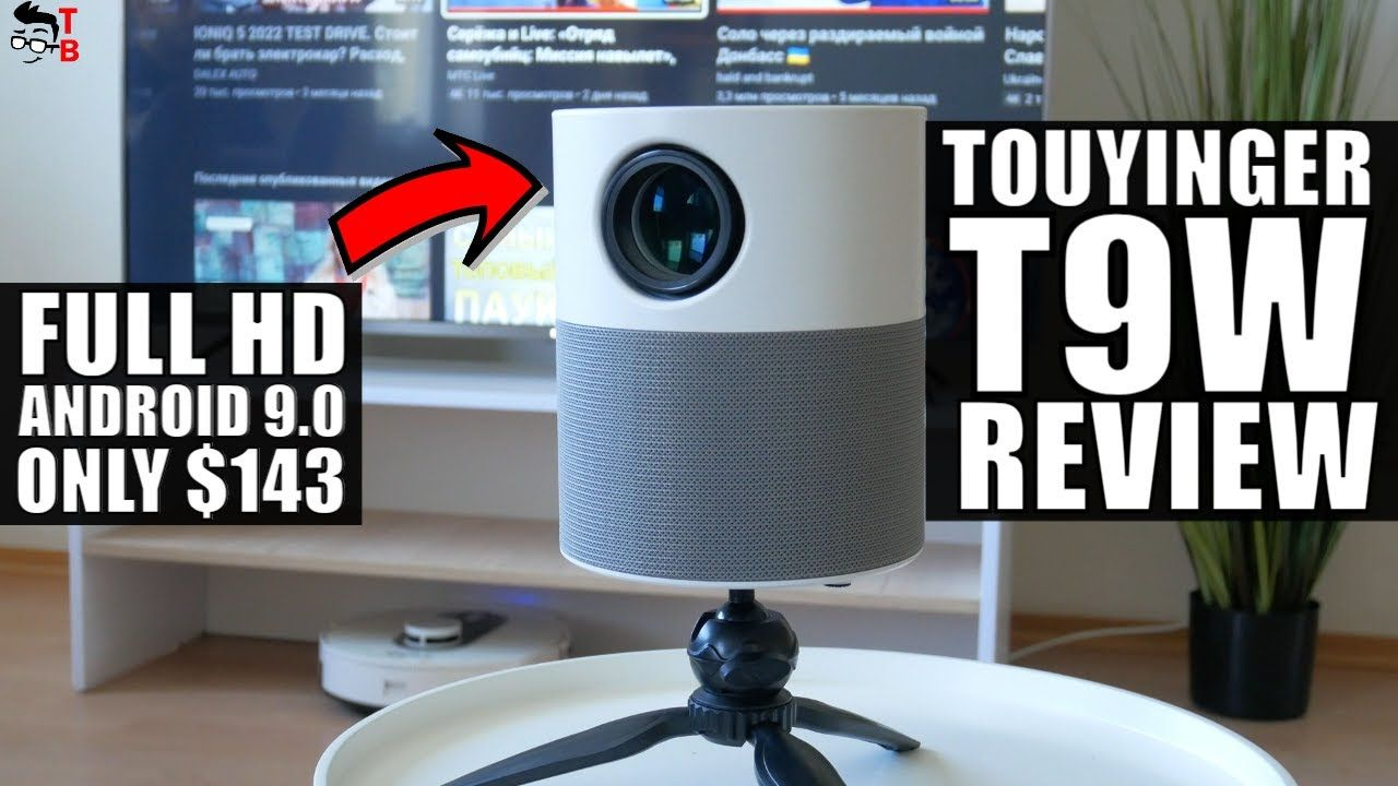 Touyinger T9W REVIEW: Budget Android 1080P Projector 2021!